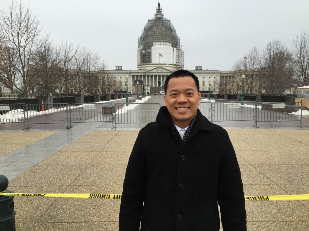 Dr. Teng in Washington DC picture